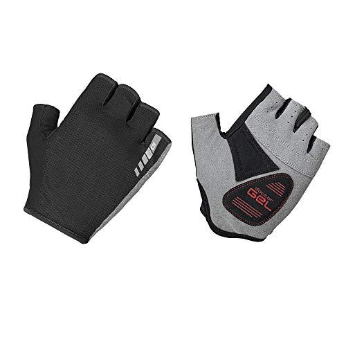 GripGrab Easyrider Fahrrad  Kurz Handschuhe, schwarz, L