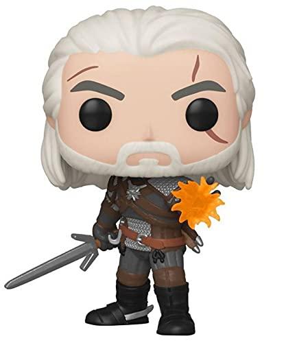 Funko Pop! Games: The Witcher 3: Wild Hunt - Geralt Glow in The Dark GameStop Exclusive Vinyl Figurine
