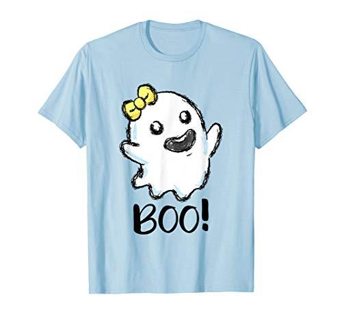Boo Geist Halloween Kostüm kleines Gespenst Spuk Geister T-Shirt