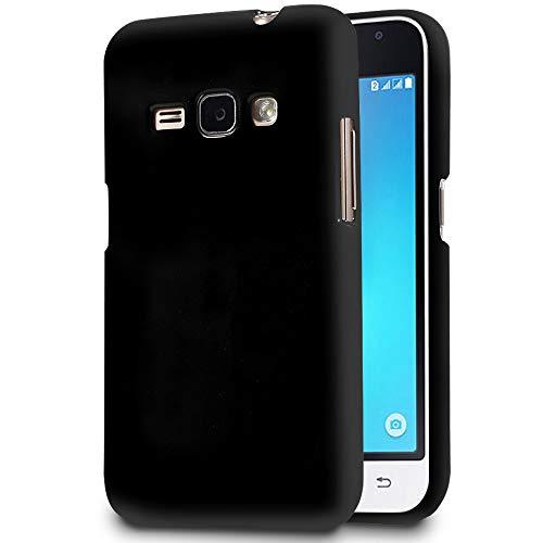 MyCase Cover Resistente per Samsung Galaxy J1 | Nero | Protezione Antiurto Integrale