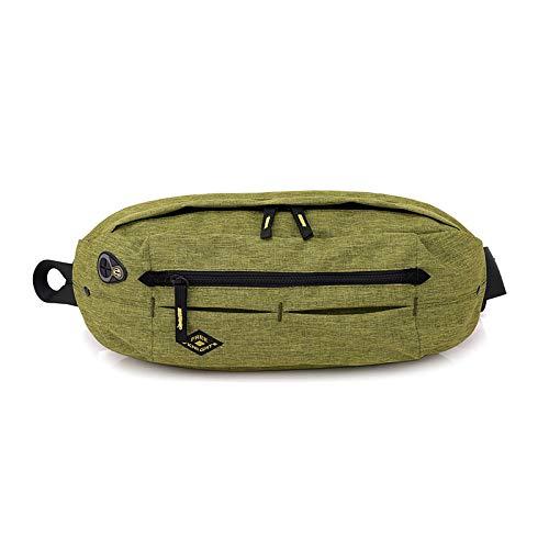 llv Verde oliva deportes al aire libre Crossbody bolsa hombres y mujeres multifuncional gran capacidad bolsa de hombro bolsa de pecho montañismo ocio viaje Running Bag