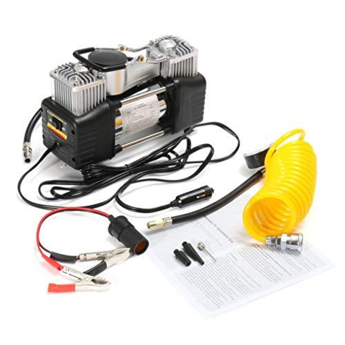 Yongse 150PSI 60L 12V luchtcompressor 4WD bandenluchtpomp draagbare kit drukpomp