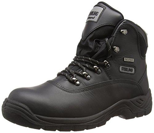 Sterling Safetywear SS812SM Scarpe Antinfortunistiche, da Uomo, Colore Nero (Black), Taglia 40 EU (6 UK)
