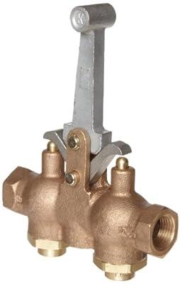 """Kingston 302 Series Brass Hoist Control Valve, 1/2"""" NPT Female by Kingston Valves"""