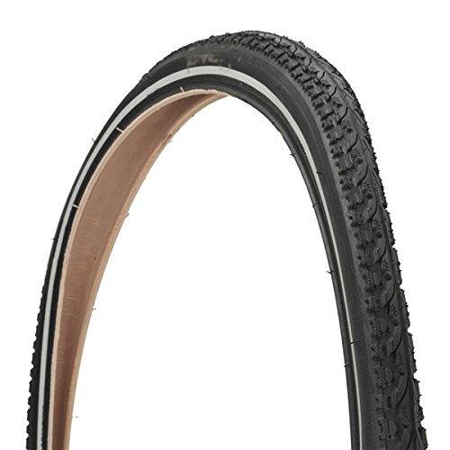 FISCHER E-Bike Trekking Fahrradreifen | Fahrradmantel | pannensicher | 28 Zoll | ETRTO: 40-622 | FARBE: schwarz mit Reflexstreifen