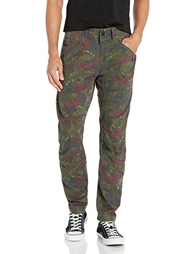 G-STAR RAW Men's Rovic Dc 3D Tapered Casual Pants, Multicolour (Tench/Aroch Ao 8109), 33