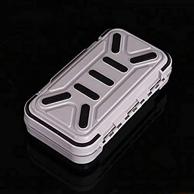 9 Compartments Fishing Lures Spoon Hooks Baits Hook Tackle Plastic Storage Box Case