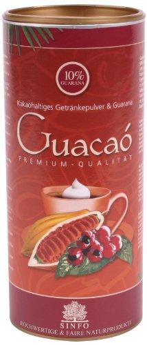 Sinfo Guacaó Bio, kakaohaltiges Getränkepulver mit Guarana, 1er Pack (1 x 325 g) - Bio