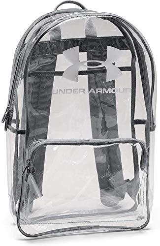 Under Armour Sac à dos transparent unisexe pour enfant, Mixte enfant, Sac à dos, 1352118, Transparent (961) / blanc., Taille unique