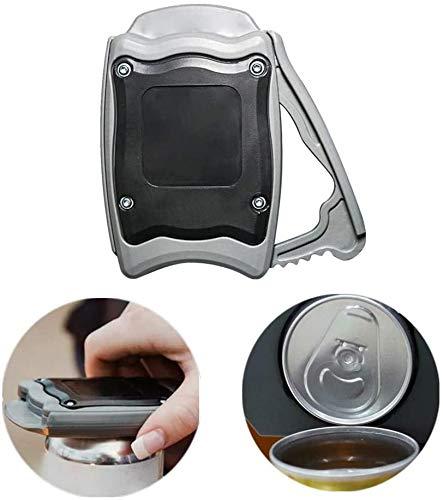 MXJFYY Apriscatole Sicurezza dello Strumento Bar Manuale di Apertura Manuale con Funzione di Blocco, Senza spigoli vivi, Apri Professionali Senza Sforzo per la Cucina Domestica