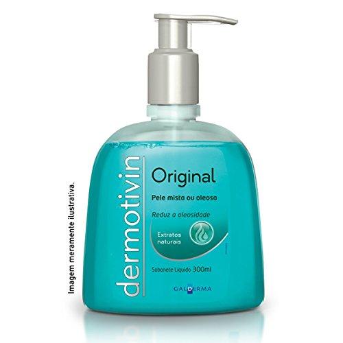 Dermotivin Original Sabonete Liquido Pump, Dermotivin, 300 ml