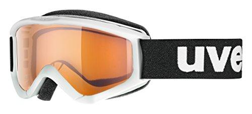 uvex Unisex Jugend, speedy pro Skibrille, white, one size