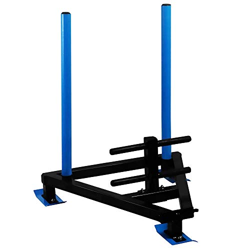 BodyRip Exercise Weight Speed Sled | Thick Steel Gauge Construction, Easy...