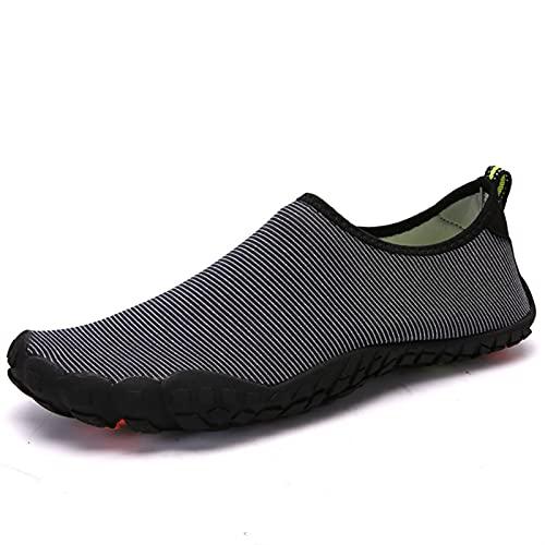 YQK Zapatos de agua, Zapatos de agua, Zapatillas de agua de secado rápido Mujeres Shoes Aqua Shoes Natación Zapatos de aptitud interior Zapatos de yoga Zapatos de playa al aire libre Zapatos de balnea