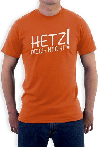 Hetz Mich Nicht Orange X-Large T-Shirt