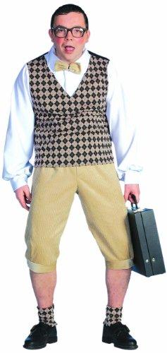 Stekarneval - Disfraz de empollón para hombre, talla 52 (535152)
