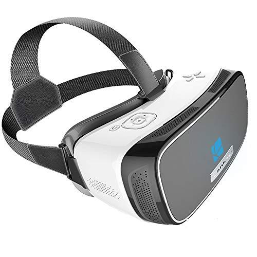 Lunettes de réalité virtuelle, Jeu de Casques 3D, système Android, processeur Quad-Core, Connexion sans Fil intégrée, Batterie Rechargeable en polymère 4400 mAH