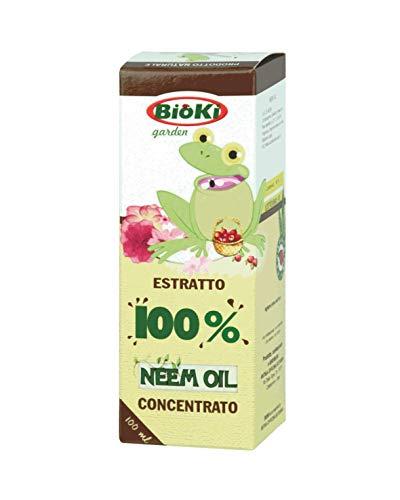 Olio di neem alta concentrazione, flacone da 100 ml
