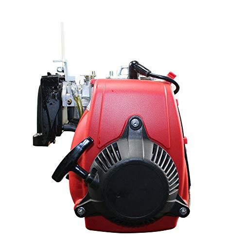 Benzinmotor Standmotor Kartmotor &elektro motor(49cc Fahrrad Moteur 4-Takt GÜRTEL 27-51 KPH 44 Zahn )rot
