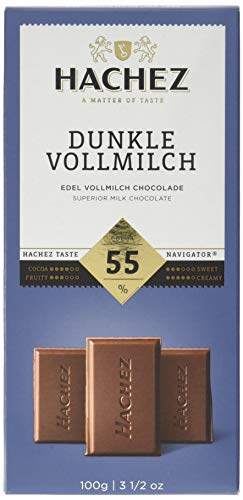 Hachez Tafel Dunkle Vollmilch 55% (100 g)