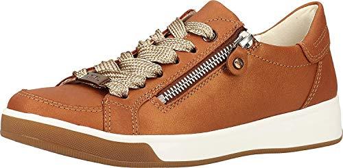ara Damen ROM Sneaker, Braun (Cognac 09), 37 EU (4 UK)