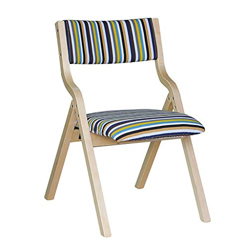 ZSH Esszimmerstühle, Folding-Bürostühle, Freizeitstühle, Holzfüße Und Bequeme Polster-Bürostühle, Studienstühle