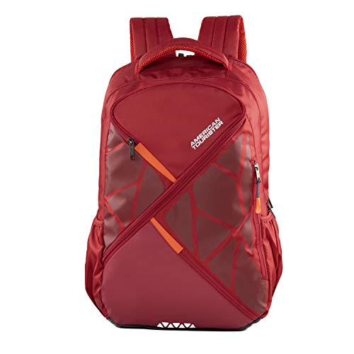 American Tourister 25 Ltrs Red Laptop Backpack (FN5 (0) 00 003)