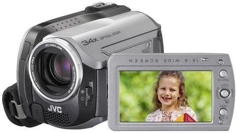 JVC Everio GZ-MG131 HDD Camcorder 30GB