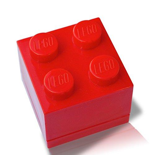 LEGO - Caja de regalo para joyas (rojo)