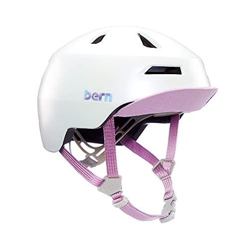 Bern Unisex, Jugendliche NINO 2.0 Fahrrad Helm, Satin-Galaxy-Perle, M