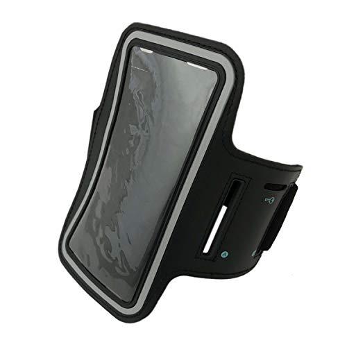 XL Universal Jogging Fitness Smartphone Sportarmband Handy Armband Handytasche für Apple Samsung Sony Huawei und HTC (6.5