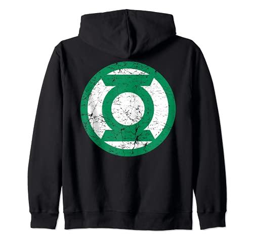 US DC Linterna Verde +Logo Apagado 01 Sudadera con Capucha