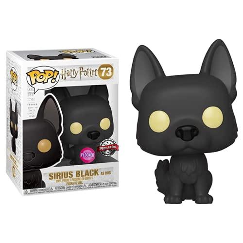 Pop! Harry Potter S5 - Figura de Vinilo Sirius Black As Dog, Flocked Special Edition