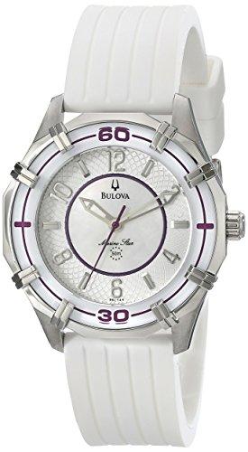 Bulova Reloj de goma Solano Marine Star 96L144 para mujer
