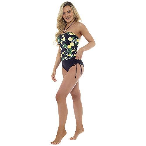 Tom Franks Womens/Ladies Lemon Print Tummy Control Tankini/Bikini (14 US) (Lemon Print)
