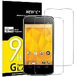 NEW'C Lot de 2, Verre Trempé pour LG Google Nexus 4, Film Protection écran - Anti...