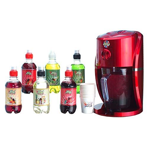 Lickleys - Máquina para hacer granizado con 6diferentes sabores, tazas y...
