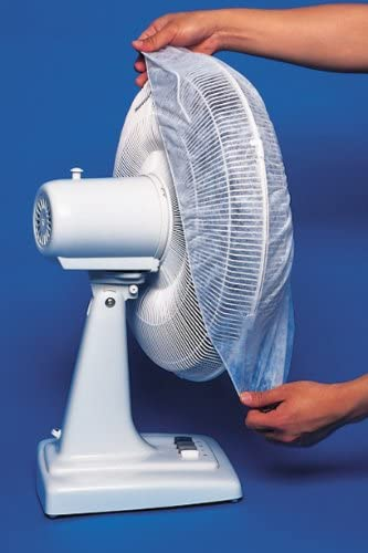 """new arrival 12""""- discount 16"""" MICROFIBER ROUND FAN FILTERS - 60 outlet sale DAY FILTRATION (SET OF 2), Clear outlet online sale"""