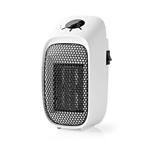 TronicXL Mini Heizgerät für Steckdose Steckdosen Heizer elektro elektrisch heizen Ofen Badezimmerofen Öfchen Elektroofen Steckdosenheizer Steckdosenheizgerät