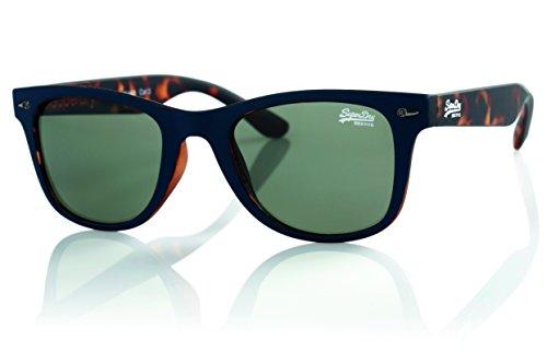 Superdry - Gafas de sol - para hombre Marrón Rubber Navy - Tort