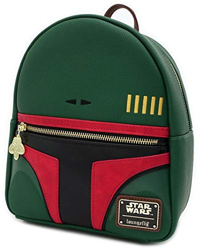 Loungefly x Star Wars Boba Fett Cosplay Mini Backpack