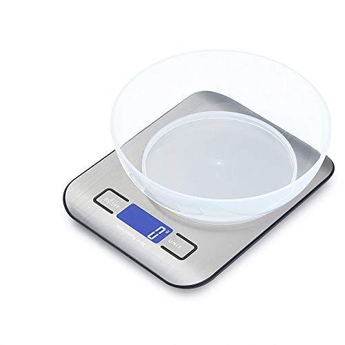 Báscula Digital de cocina de 5 kg, pantalla LCD de mayor pr