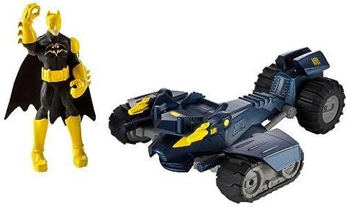 precio mas barato Batman Power Attack Combat Kick Bat-Tank Vehicle by by by Mattel  Obtén lo ultimo