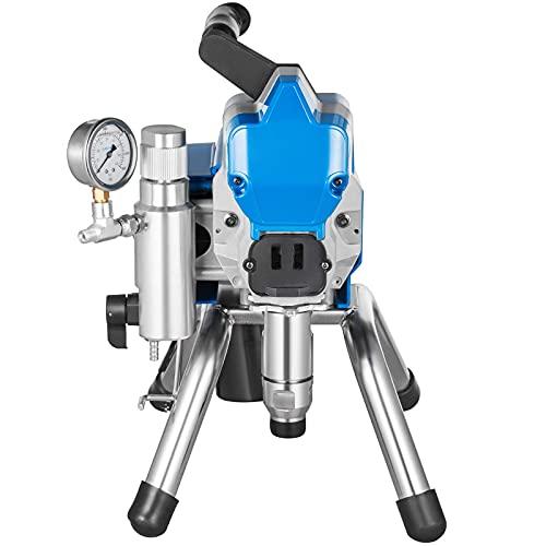 Husuper Pulverizador de Pintura sin Aire de Alta Presión Máquina de Pulverización de Pintura 2200W Pulverizador Coche Pulverizador de Pintura