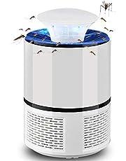فخ البعوض والحشرات مع مصباح الي لجذبها وسحبها وقتلها بالصعق ومجهز بمنفذ طاقة يو اس بي وهو جهاز صديق للبيئة