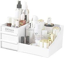 化粧品収納ボックス【2020年最新】コスメボックス 卓上収納 引き出し 小物入れ メイクボックス 大容量 収納ケース 安定 おしゃれ