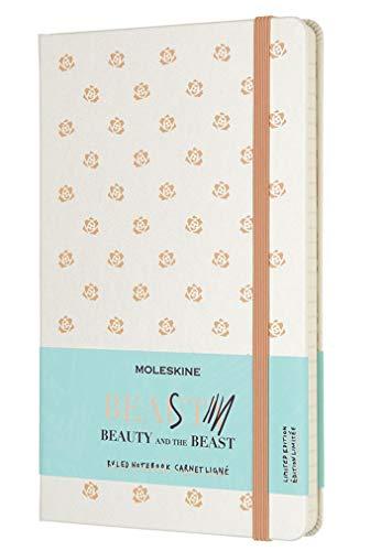 Moleskine Cuaderno, la Bella y la bestia, Hard Cover, color Rose L