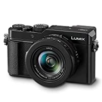 Panasonic Lumix LX100 II Large Four Thirds 21.7 MP Multi Aspect Sensor 24-75mm Leica DC VARIO-SUMMILUX F1.7-2.8 Lens Wi-Fi and Bluetooth Camera with 3