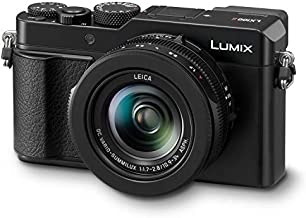 Panasonic Lumix LX100 II Large Four Thirds 21.7 MP Multi Aspect Sensor 24-75mm Leica DC VARIO-SUMMILUX F1.7-2.8 Lens Wi-Fi and Bluetooth Camera with 3