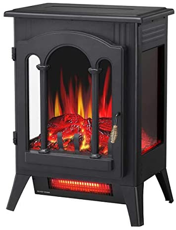 Top 10 Best electric wood stove heater Reviews